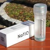 携帯型浄水ボトル NaTiO