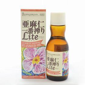 紅花食品 亜麻仁一番搾りライト 170g×3本