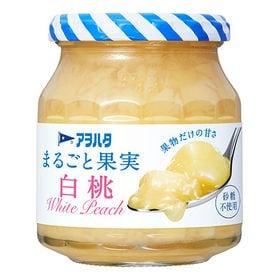 アヲハタ まるごと果実 白桃 250g×6個