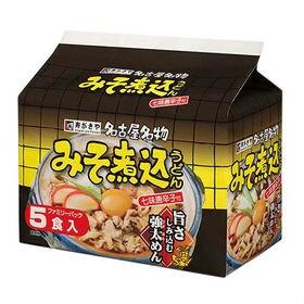 寿がきや 名古屋名物 みそ煮込うどん 5食×6袋