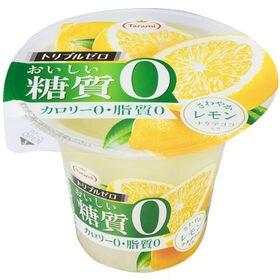 たらみ トリプルゼロ おいしい糖質0 レモン 195g×18個