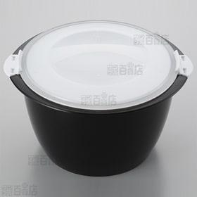 レンジごはん炊き1合 ブラック