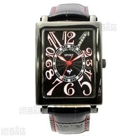 ミッシェルジョルダン(michel Jurdain) メンズ腕時計(天然ダイヤ入り) /SG-3000-2