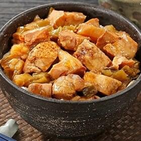 業務用焼き鳥丼の具 80g×10袋 | 温めるだけの簡単調理ですぐ食べられるから嬉しい!賞味期限が常温で一年間あるので常備食や非常食にオススメの一品!!