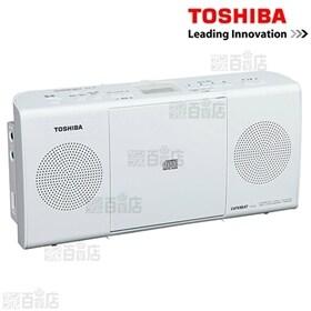 東芝/CDラジオ(ホワイト)/TY-C24(W)