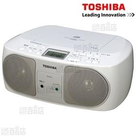 東芝/CDラジオ(シルバー)/TY-C15(S)