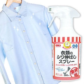 [3個組]クリーニング屋さんの衣類のシワ伸ばしスプレー 300ml|アイロンがけの苦労を減らしたい!