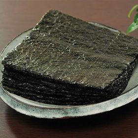 有明産 全形焼海苔 40枚 | 手巻きやおにぎりなど料理に幅広く使える全形サイズだからとっても便利。江戸宝永三年創業の老舗の焼海苔をお届け!