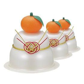 【60個】サトウの福餅入り鏡餅 小飾り橙付き