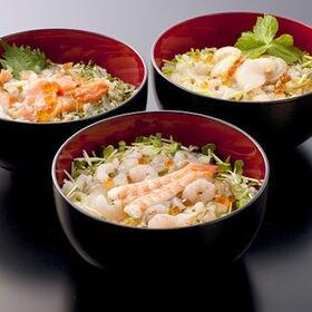 海鮮ぶっかけ丼の具 3種9パックセット(ほたて・サーモン・えび)