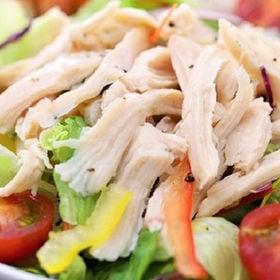蒸し鶏ほぐし(サラダチキン)120g×10