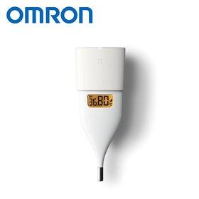 [ホワイト]オムロン/婦人用電子体温計 MC-652LC-W|<口中専用>約10秒のスピード検温。iPhone/Androidスマートフォンで、体温管理やリズム管理も可能!