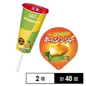 【各24個】セブンティーンアイス ゆず&ジンジャー / ホッ...