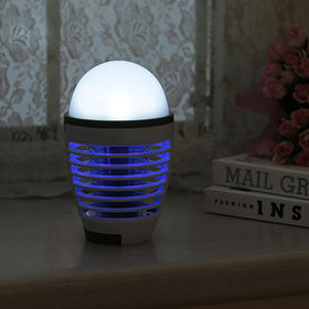LEDライト付電撃殺虫機モスキライト