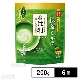 辻利 抹茶ミルク やわらか風味 200g×6個