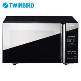 ツインバード(TWINBIRD)/ミラーガラス フラット電子...