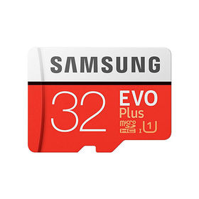 SAMSUNG(サムスン)/microSDHCカード 32GB EVO Plus Class10 UHS-I対応 最大読出速度95MB/s  海外パッケージ品|日常を楽しく、豊かに彩りましょう!!