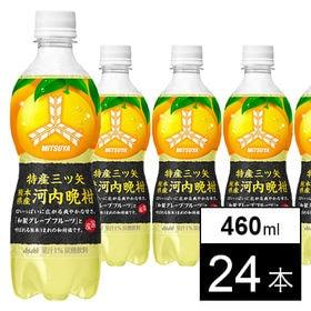 [24本]アサヒ 特産三ツ矢 熊本県産河内晩柑 PET460ml