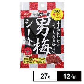 ノーベル 男梅シート27g×12個(6×2B)