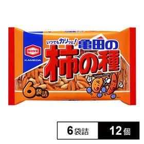 亀田製菓 亀田の柿の種6袋詰200g×12個