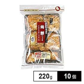 丸彦製菓 角餅しょうゆ、無選別 220g×10個