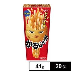 グリコ かるじゃがうましお味 41g×20個 (10×2B)