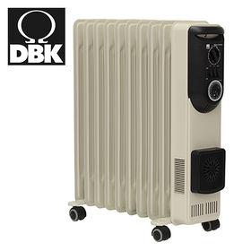 DBK/ハイブリット オイルヒーター 10枚フィン(セラミッ...