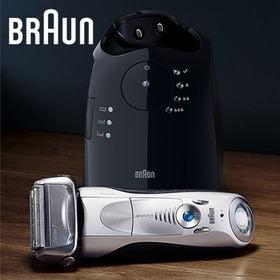 ブラウン(BRAUN)/シリーズ7 メンズ電気シェーバー(3枚刃/洗浄器付モデル/お風呂剃り可) シルバー/7898cc-P