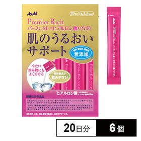 【6個】プレミアムリッチPアスタヒアルロン酸パウダー