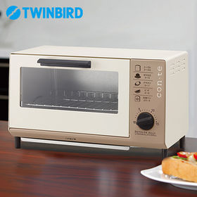 ツインバード(TWINBIRD)/con・te オーブントー...