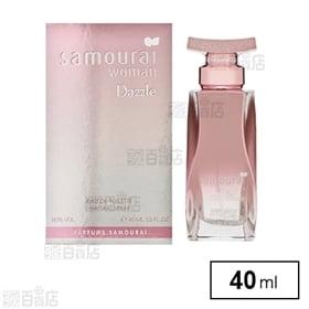 サムライウーマン ダズル オードトワレ 40ml | 甘くて魅力が横溢する香りが新たな出会いを引き寄せます。男性が振り返らずにはいられない美しい香り♪