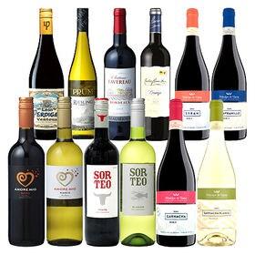 ワイン銘醸国を巡るヨーロッパ飲み比べ12本セット