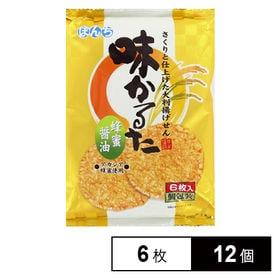 味かるた 蜂蜜醤油 6マイ×12個