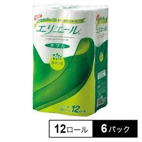 【72ロール】エリエールトイレット12ロールダブル30m