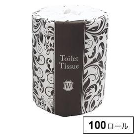 【100ロール】アラベスクトイレット 1ロールダブル30m