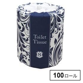 【100ロール】アラベスクトイレット 1ロールシングル65m
