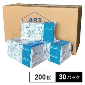 【30パック】ASTペーパータオル 中判200枚