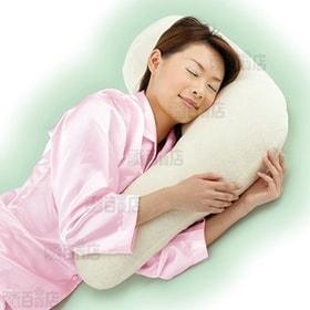 勝野式 横寝枕 (アイボリー)