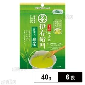 伊右衛門インスタント緑茶 40g×6袋