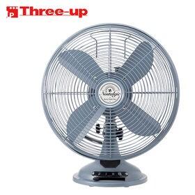 Three-up(スリーアップ)/レトロテーブルファン ノス...