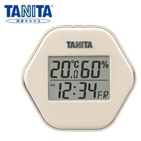 タニタ (TANITA)/デジタル温湿度計(アイボリー)/T...