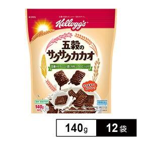 日本ケロッグ 五穀のサクサクカカオ 140g×12袋