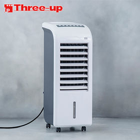 Three-up(スリーアップ)/ボックス冷風扇 エアクール...