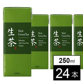 [24本] 生茶 250ml | 茶葉のいいところをまるごと引き出した、現代の本格緑茶。