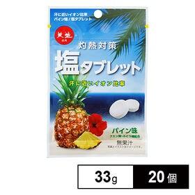 灼熱対策 塩タブレット パイン味 33g×20個