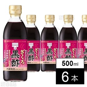 ミツカン ざくろ黒酢 500ml×6本