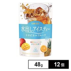 日東紅茶 水出しアイスティー トロピカルフルーツTB 12袋...
