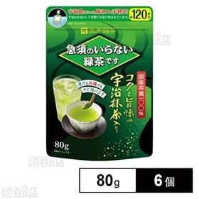 三井銘茶 急須のいらない緑茶です 80g×6個