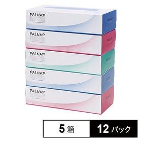 5箱×12パック / パルナップボックスティッシュ200組