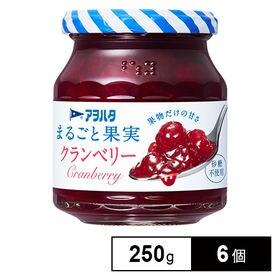 アヲハタ まるごと果実 クランベリー 250g×6個